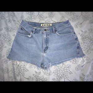 Zena Denim Shorts